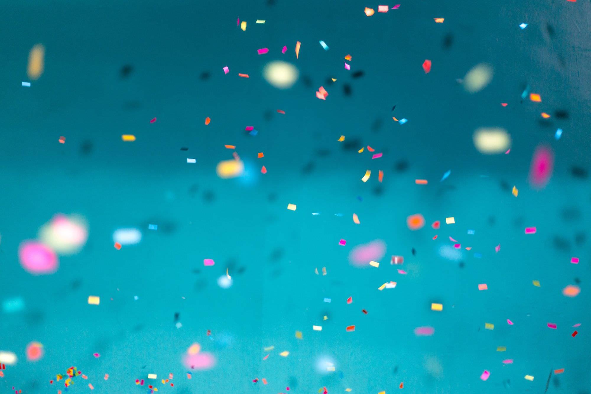 Confettis.